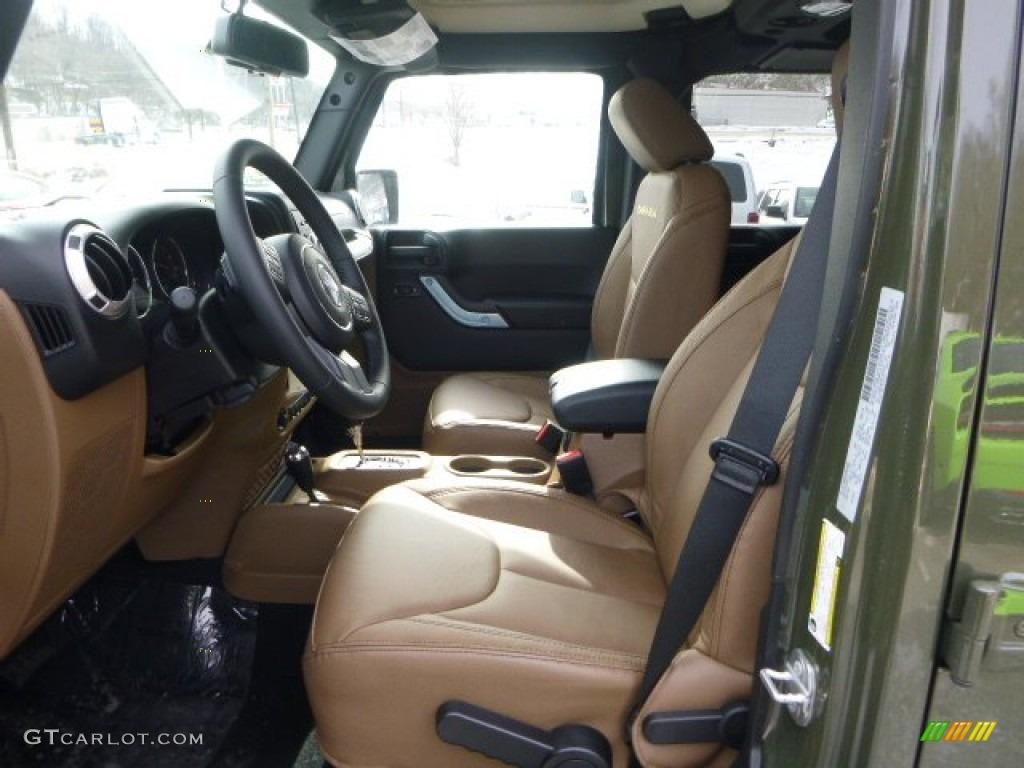 Black Dark Saddle Interior 2015 Jeep Wrangler Unlimited Sahara 4x4 Photo 101327639