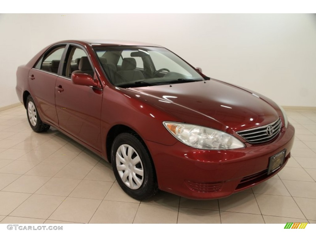 2006 salsa red pearl toyota camry le 101323127 car color galleries. Black Bedroom Furniture Sets. Home Design Ideas