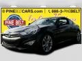 2013 Black Noir Pearl Hyundai Genesis Coupe 3.8 Track  photo #1