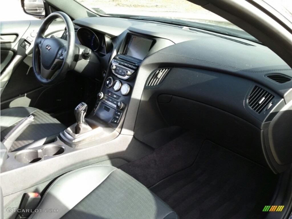 2013 Genesis Coupe 3.8 Track - Black Noir Pearl / Black Leather photo #6