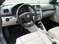 Moonrock Grey 2009 Volkswagen Eos Interiors