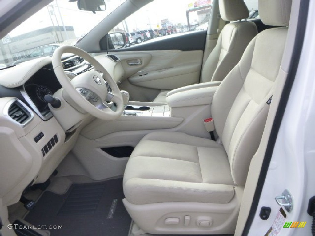 Cashmere Interior 2015 Nissan Murano SV AWD Photo ...