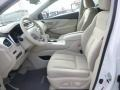 Cashmere Front Seat Photo for 2015 Nissan Murano #101367069