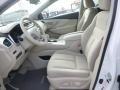 2015 Nissan Murano Cashmere Interior Front Seat Photo