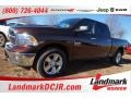 2015 Western Brown Ram 1500 Big Horn Crew Cab 4x4  photo #1