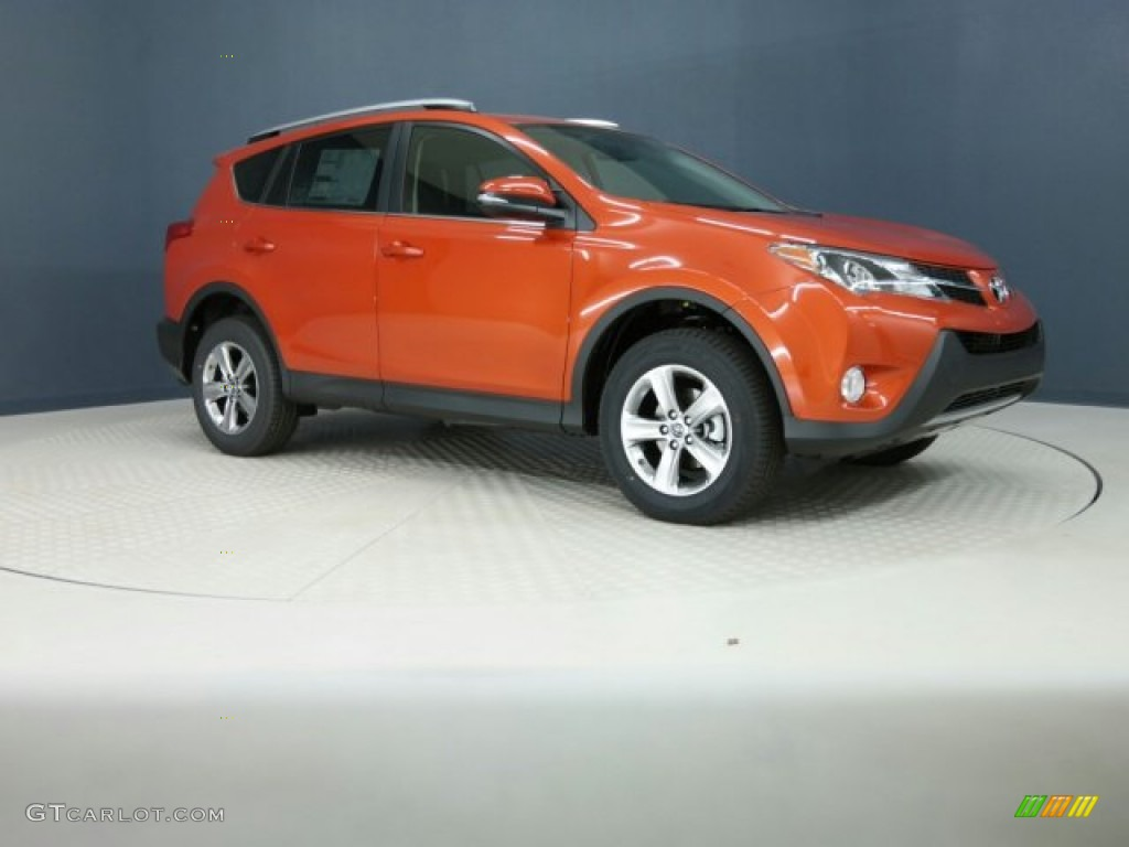 2015 hot lava toyota rav4 xle 101323034 photo 2 car color galleries. Black Bedroom Furniture Sets. Home Design Ideas