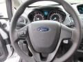 Charcoal Black Steering Wheel Photo for 2015 Ford Fiesta #101399592
