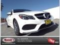 designo Diamond White Metallic 2015 Mercedes-Benz E 550 Coupe