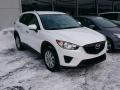 Crystal White Pearl Mica 2013 Mazda CX-5 Sport