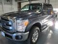 2015 Blue Jeans Ford F250 Super Duty Lariat Crew Cab 4x4  photo #3