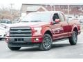 Ruby Red Metallic 2015 Ford F150 Gallery