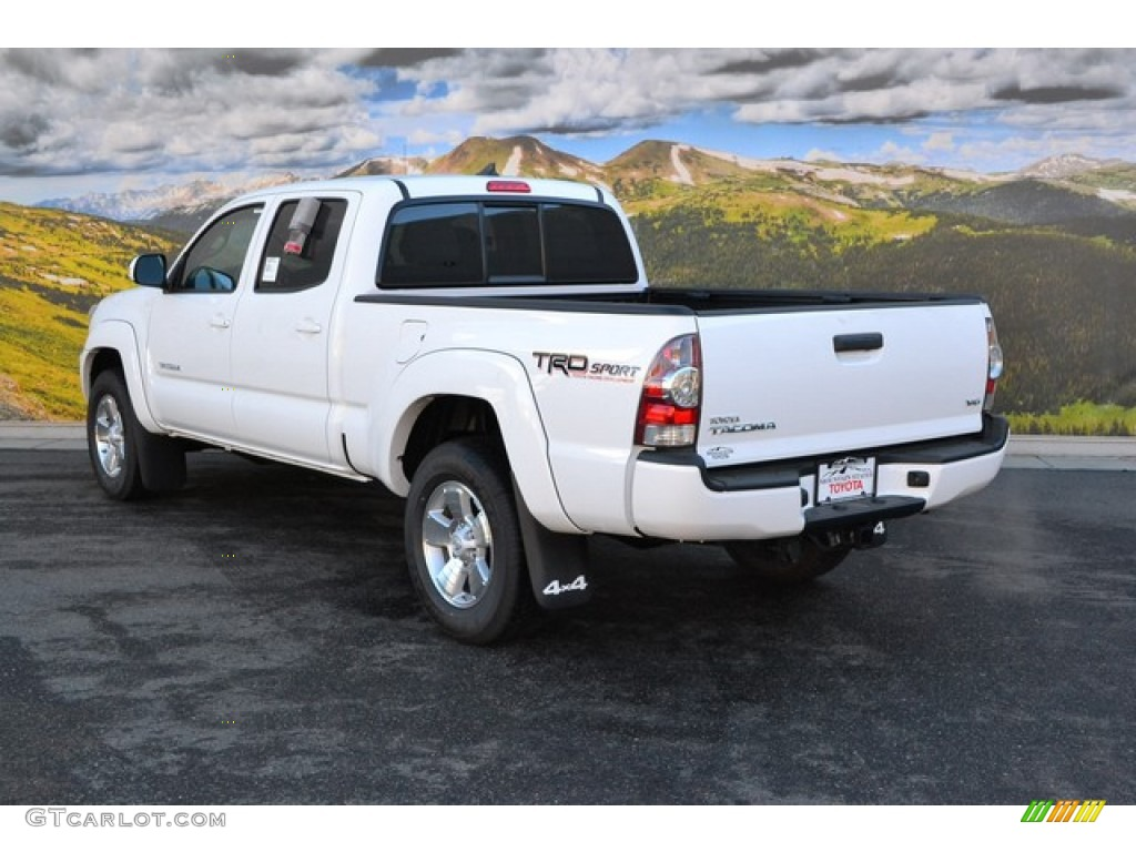 2015 super white toyota tacoma trd sport double cab 4x4 101442967 photo 3 car. Black Bedroom Furniture Sets. Home Design Ideas