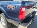 2015 Blue Jeans Ford F250 Super Duty XLT Crew Cab 4x4  photo #46