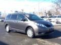 2012 Predawn Gray Mica Toyota Sienna LE AWD  photo #3