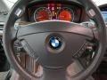 Basalt Grey/Flannel Grey Steering Wheel Photo for 2003 BMW 7 Series #101507795