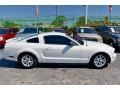 Performance White 2006 Ford Mustang V6 Premium Coupe Exterior