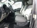 Medium Earth Gray Front Seat Photo for 2015 Ford F150 #101543005