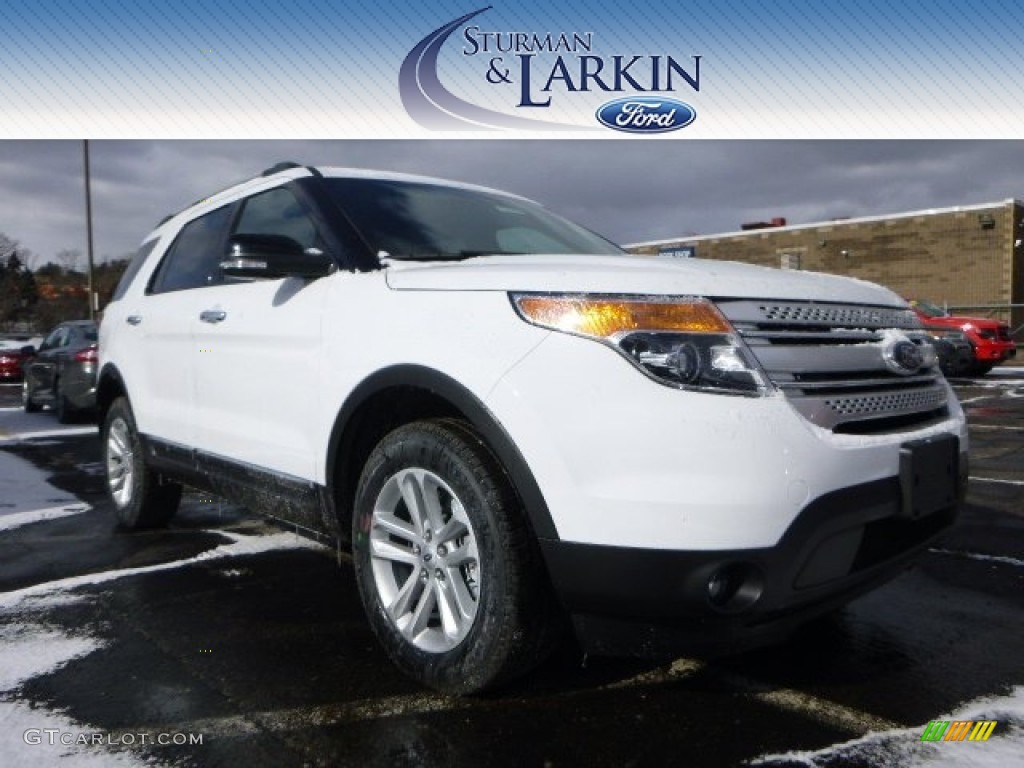 2015 oxford white ford explorer xlt 4wd 101518695