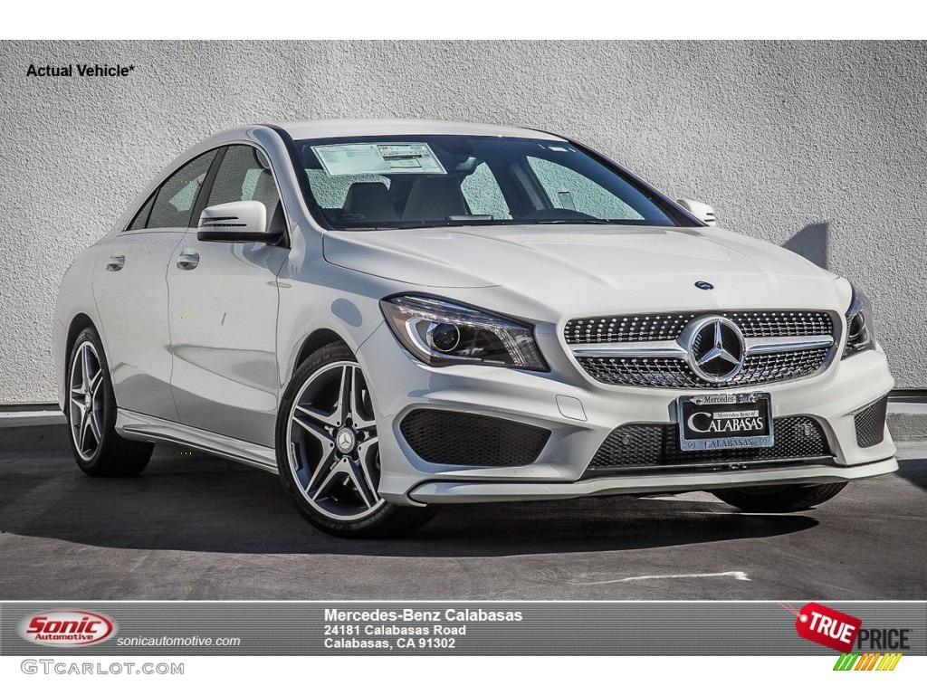 2015 Cirrus White Mercedes Benz Cla 250 101545569 Photo