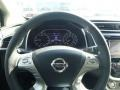 2015 Nissan Murano Graphite Interior Steering Wheel Photo
