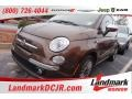 Espresso (Brown) 2012 Fiat 500 c cabrio Lounge