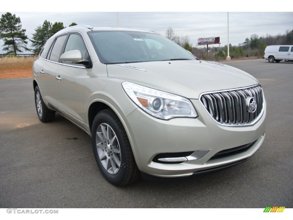2015 champagne silver metallic buick enclave leather 101567693
