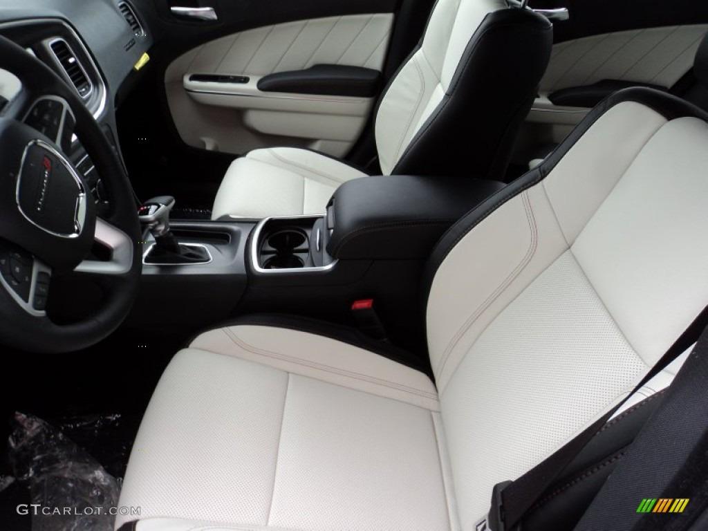Black/Pearl Interior 2015 Dodge Charger SXT Photo #101593994