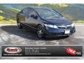 Crystal Black Pearl 2010 Honda Civic LX Sedan