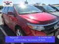 Ruby Red 2013 Ford Edge Sport