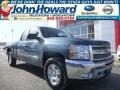 2013 Woodland Green Chevrolet Silverado 1500 LT Extended Cab 4x4  photo #1