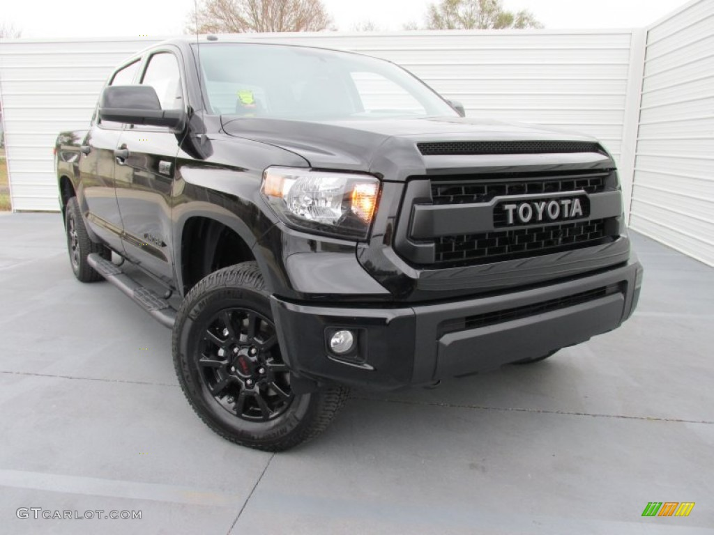 2015 toyota tundra trd pro crewmax 4x4 black color trd pro black. Black Bedroom Furniture Sets. Home Design Ideas
