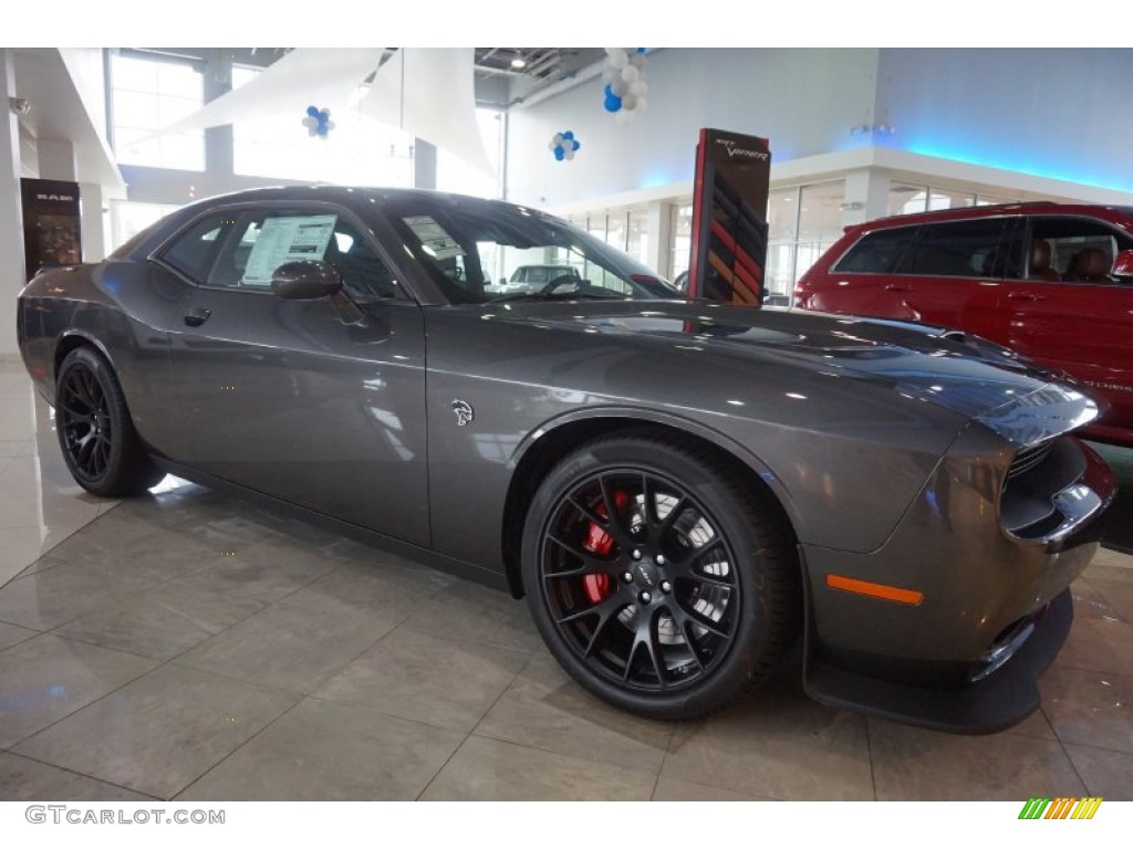 2015 challenger hellcat pictures granite crystal metallic. Black Bedroom Furniture Sets. Home Design Ideas