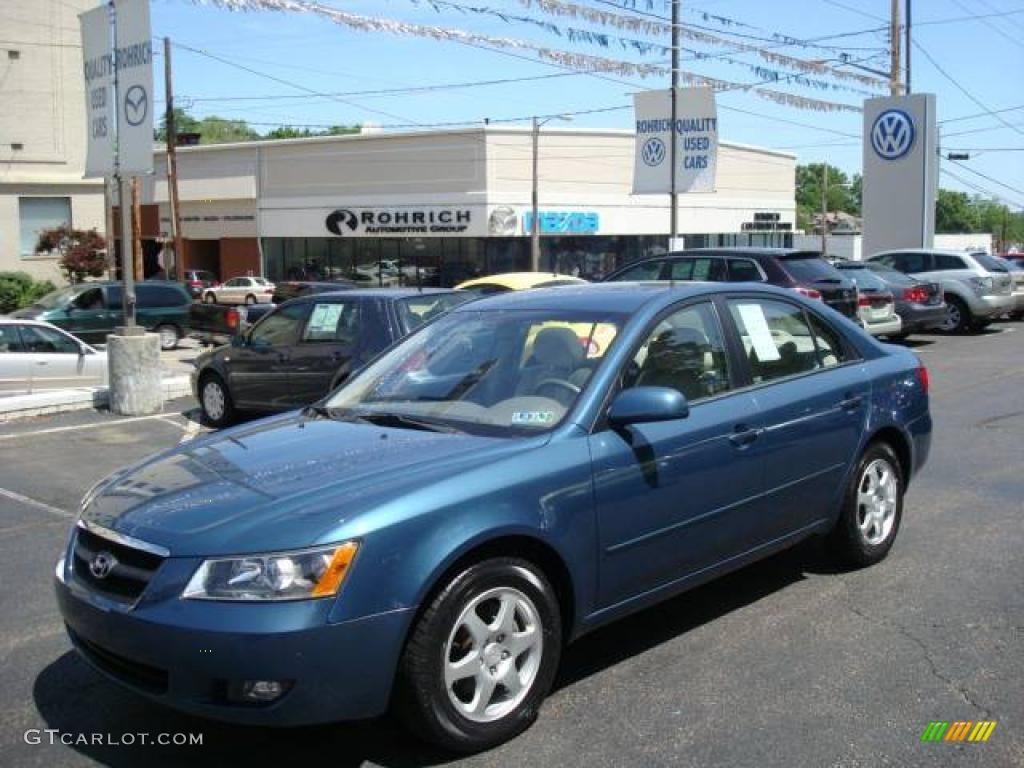 2006 Aquamarine Pearl Hyundai Sonata Gls 10144822