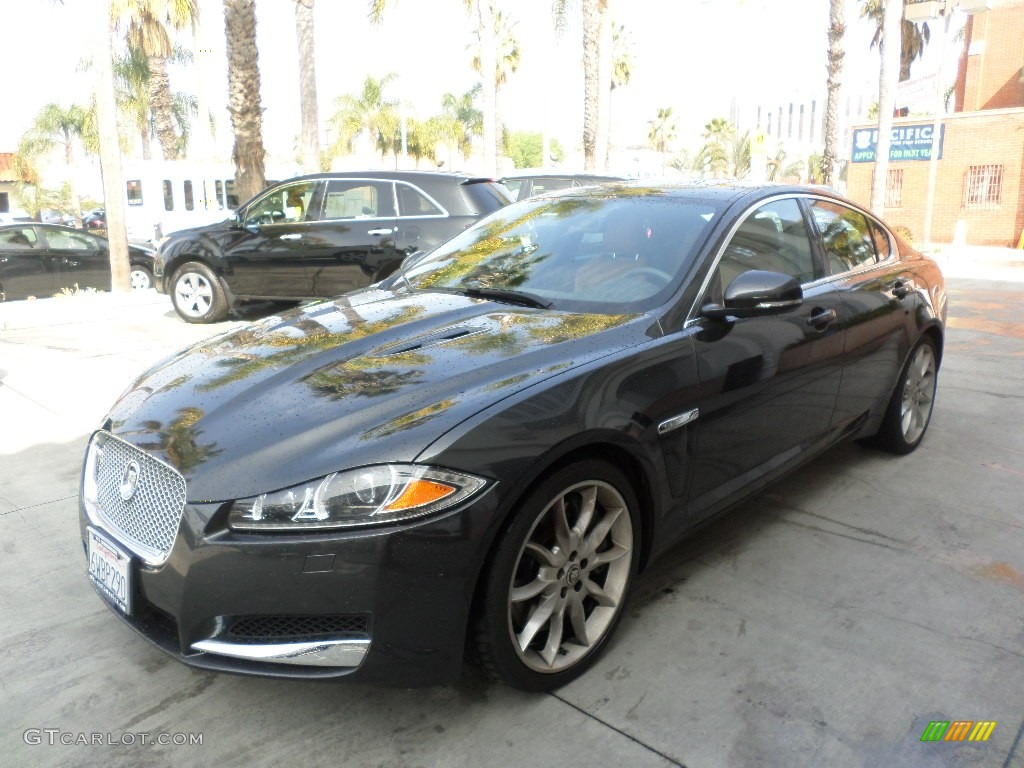 2012 stratus grey metallic jaguar xf supercharged 101697060 photo 5 car color. Black Bedroom Furniture Sets. Home Design Ideas