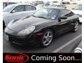 Black 1999 Porsche 911 Carrera Coupe