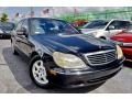 Black 2002 Mercedes-Benz S 500 Sedan