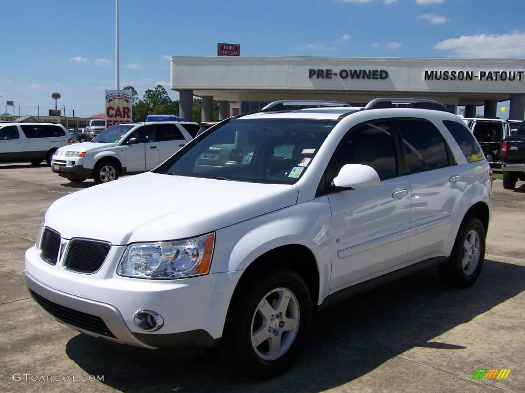 2006 Bright White Pontiac Torrent 10145746 Gtcarlot Com Car