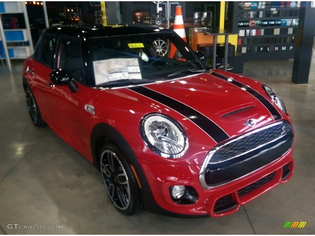 2015 chili red mini cooper s hardtop 4 door 101697153. Black Bedroom Furniture Sets. Home Design Ideas