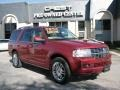 2007 Vivid Red Metallic Lincoln Navigator Luxury  photo #1
