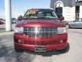2007 Vivid Red Metallic Lincoln Navigator Luxury  photo #2