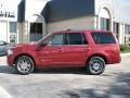 2007 Vivid Red Metallic Lincoln Navigator Luxury  photo #4