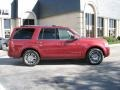 2007 Vivid Red Metallic Lincoln Navigator Luxury  photo #7