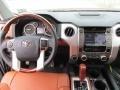 2015 Toyota Tundra 1794 Edition Premium Brown Leather Interior Dashboard Photo