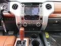 1794 Edition Premium Brown Leather Controls Photo for 2015 Toyota Tundra #101727195