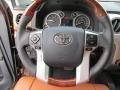 2015 Toyota Tundra 1794 Edition Premium Brown Leather Interior Steering Wheel Photo