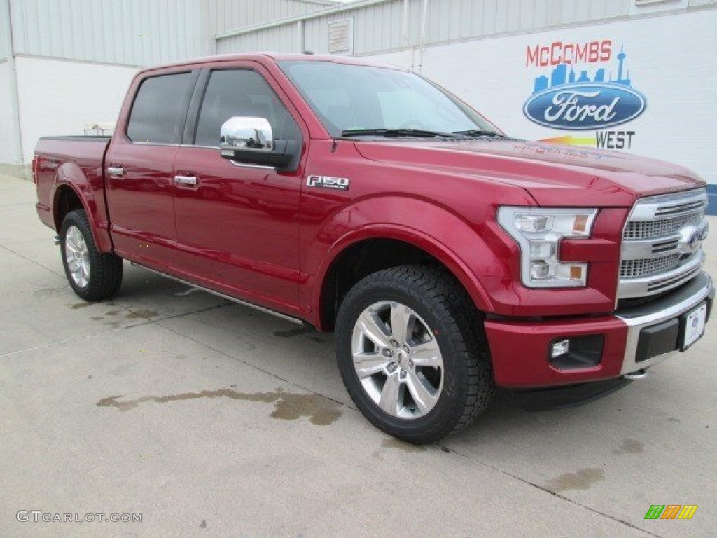 2015 ruby red metallic ford f150 king ranch supercrew 4x4 101726146 car color. Black Bedroom Furniture Sets. Home Design Ideas