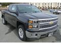 Tungsten Metallic 2015 Chevrolet Silverado 1500 LT Double Cab