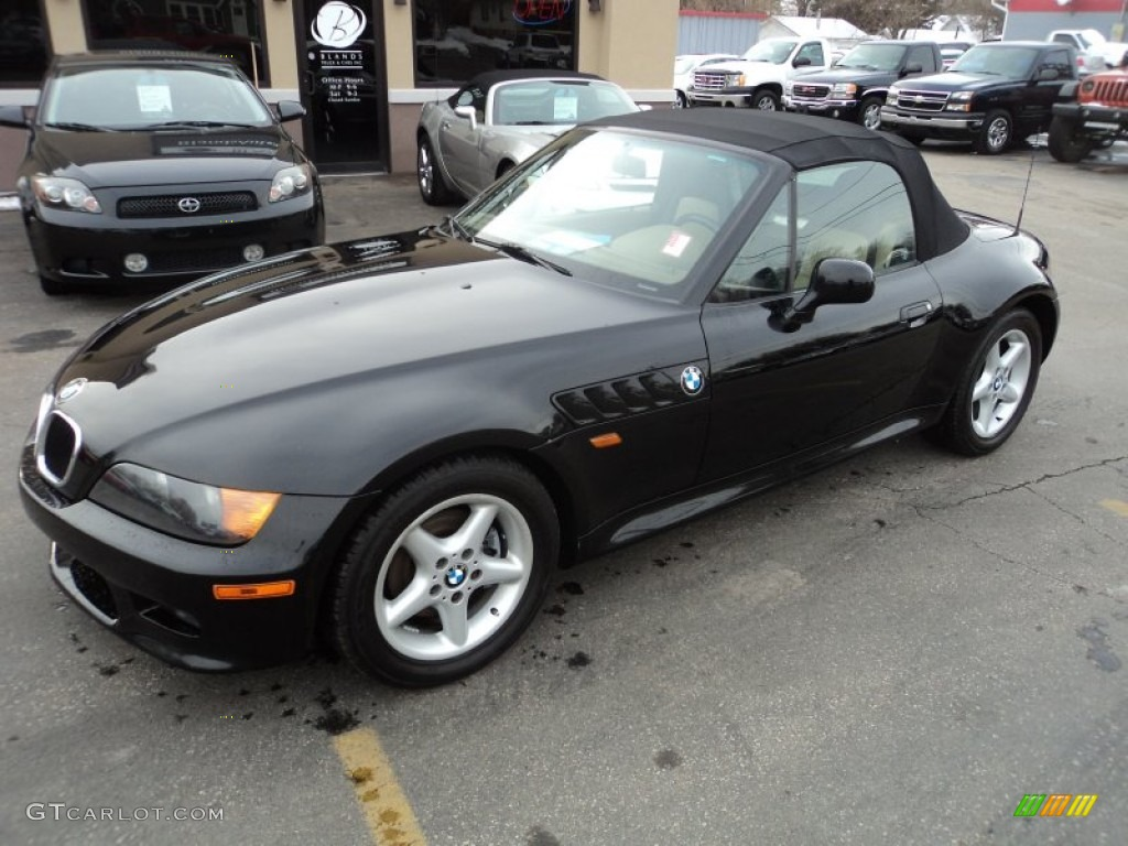 Jet Black 1999 Bmw Z3 2 8 Roadster Exterior Photo