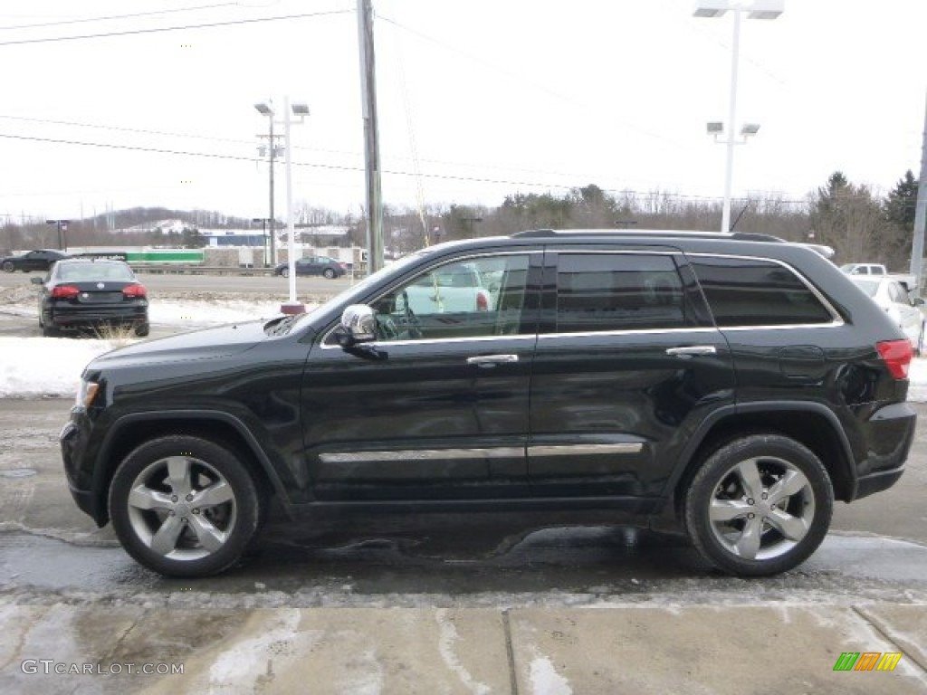 Black Forest Green Pearl 2012 Jeep Grand Cherokee Limited 4x4 Exterior Photo 101804081
