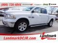 Bright White - 1500 Laramie Longhorn Crew Cab 4x4 Photo No. 1